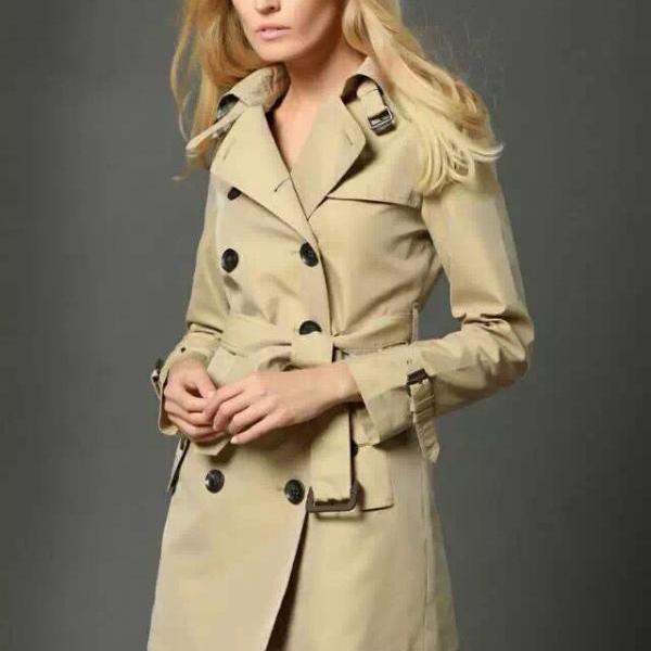 women outwear coat,Han edition British women's clothing in the spring and autumn outfit with a new coat long cultivate one's morality leisure coat women's trench coat